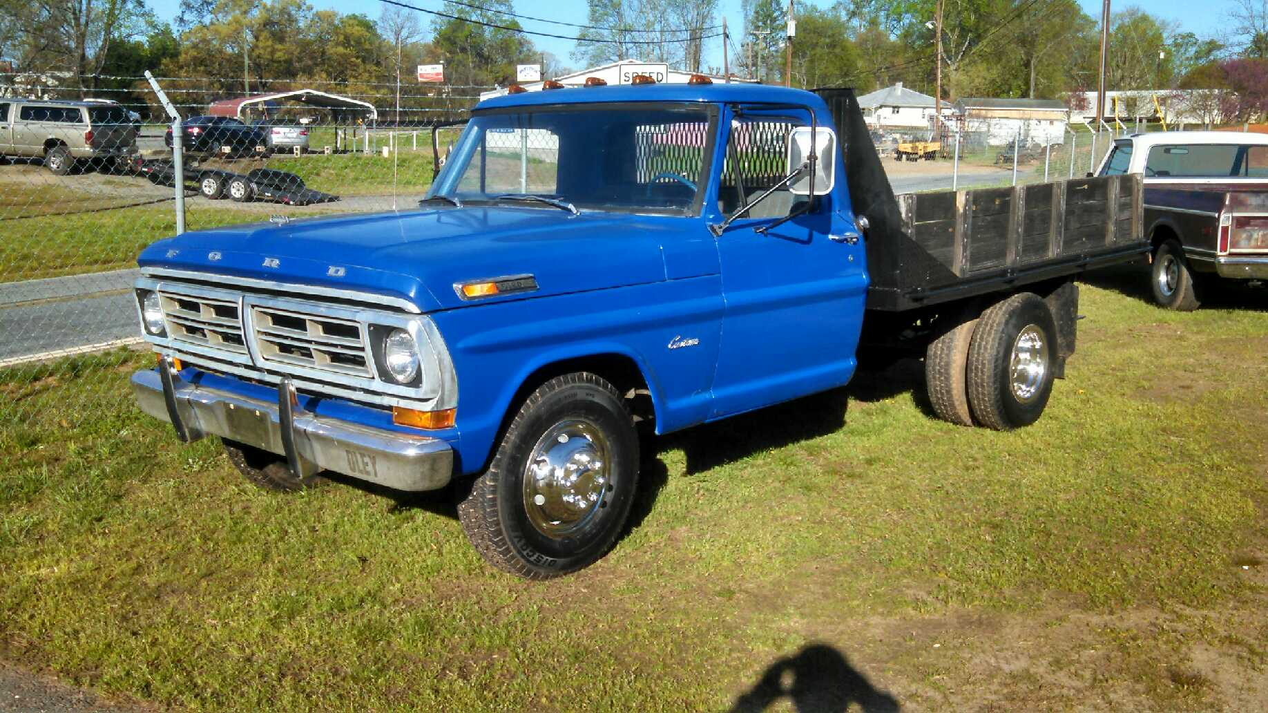 1971 ford f350 flatbed truck